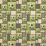 Soccer Ball Kraft Present Gift Wrap Wrapping Paper