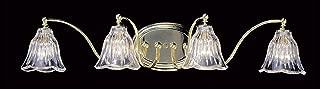 product image for Framburg 8174 PN 4-Light Geneva Sconce, Polished Nickel