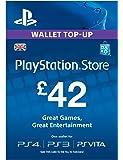 PSN CARD 42 GBP WALLET TOP UP [PSN Code - UK account]
