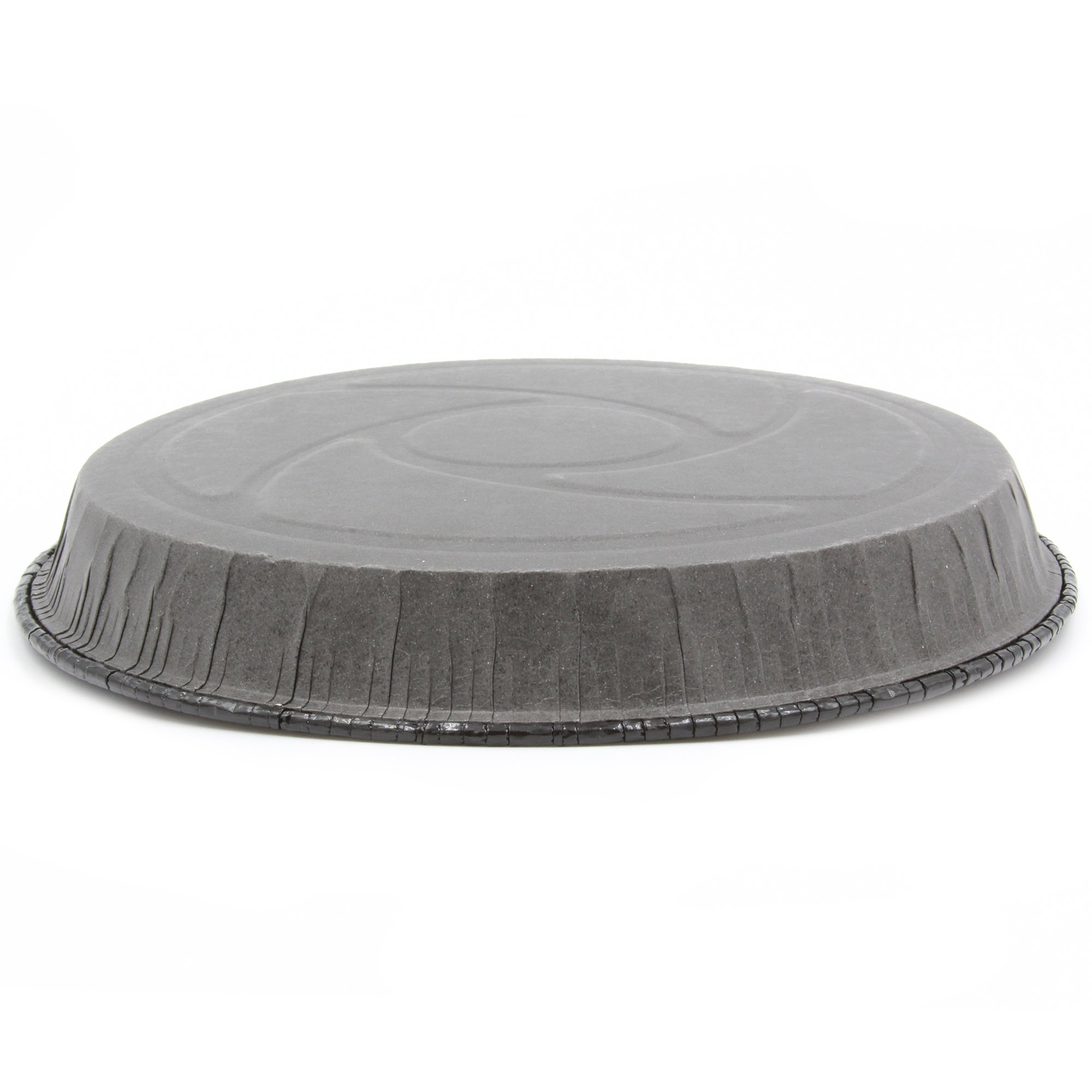 Paper Baking Round Pie Molds Easy Baking/Easy Release No Need To Spray Color Black Size B 7 51/64 x H 63/64'' Model 8019825NCT (65) by Ecobake (Image #3)