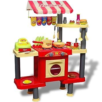 vidaXL Kinderspielküche Groß Spielküche Kinderküche ...