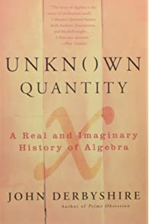 abel s proof an essay on the sources and meaning of mathematical  unknown quantity a real and imaginary history of algebra
