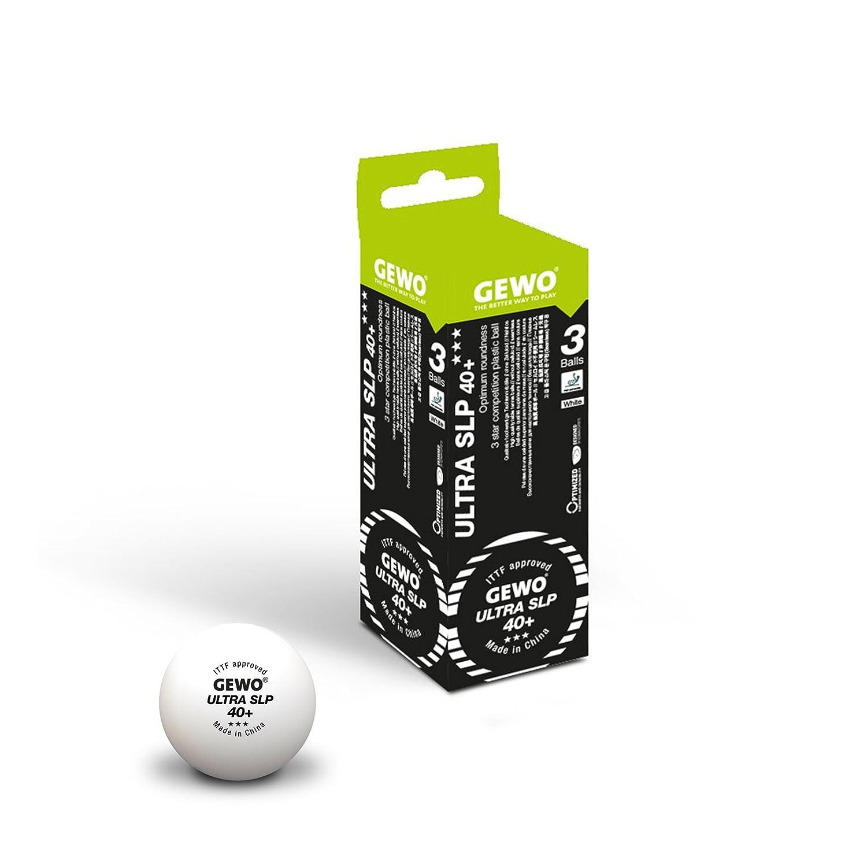 GEWO Ball Ultra SLP 40+ *** 3er weiß Weiß GEWO6|#GEWO 81341200