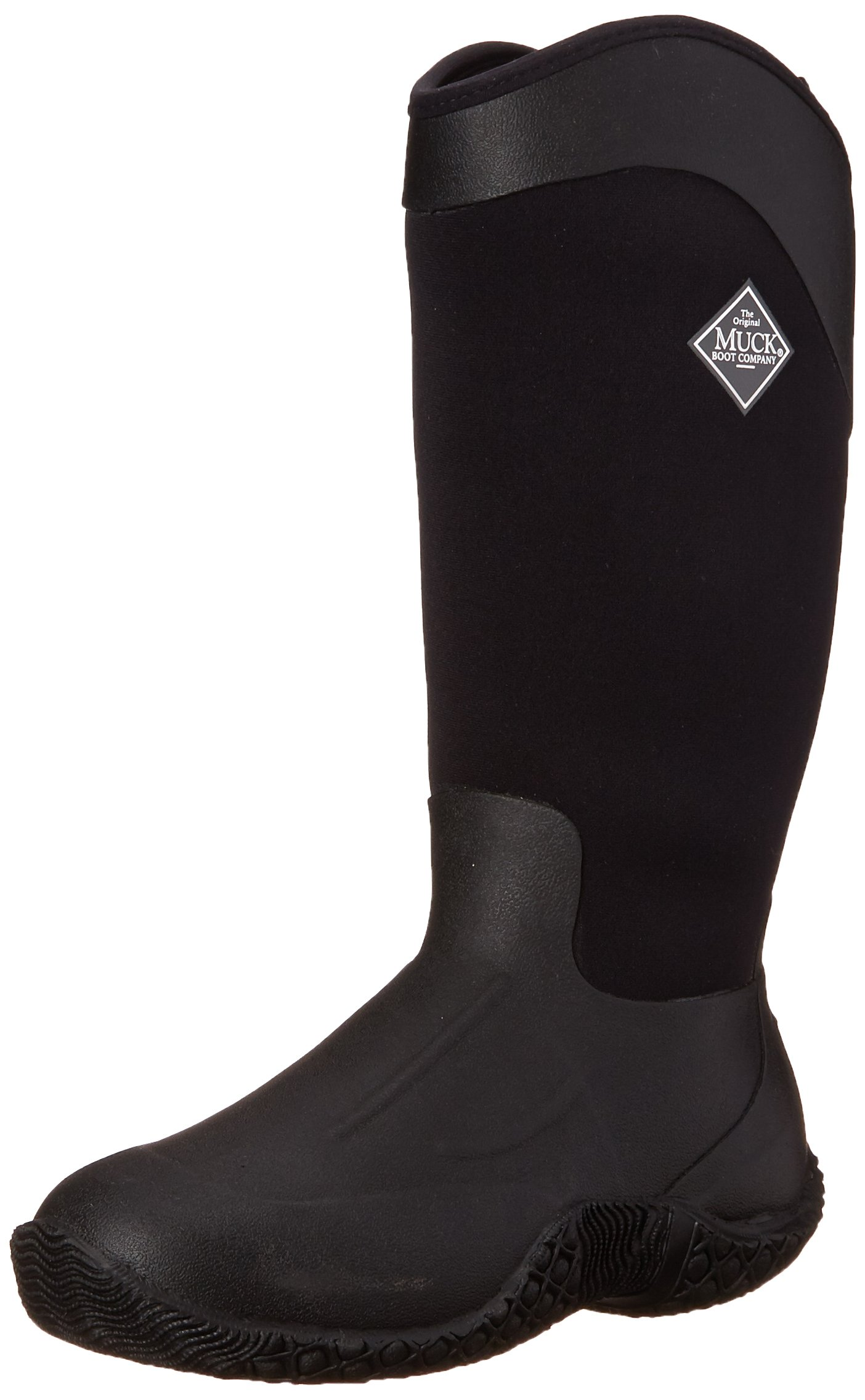 MuckBoots Women's Tack II Tall Equestrian Work Boot, Black, 7 M US