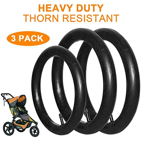 3-Pack One 16 x 1.75//2.15 Rear and One 12.5 x 1.75//2.15 Front Wheel Replacement Premium Explosion Proof Inner Tubes for BoB Stroller Tire Tube Revolution SE//Pro//Flex//SU//Ironman and 1 Tire Lever