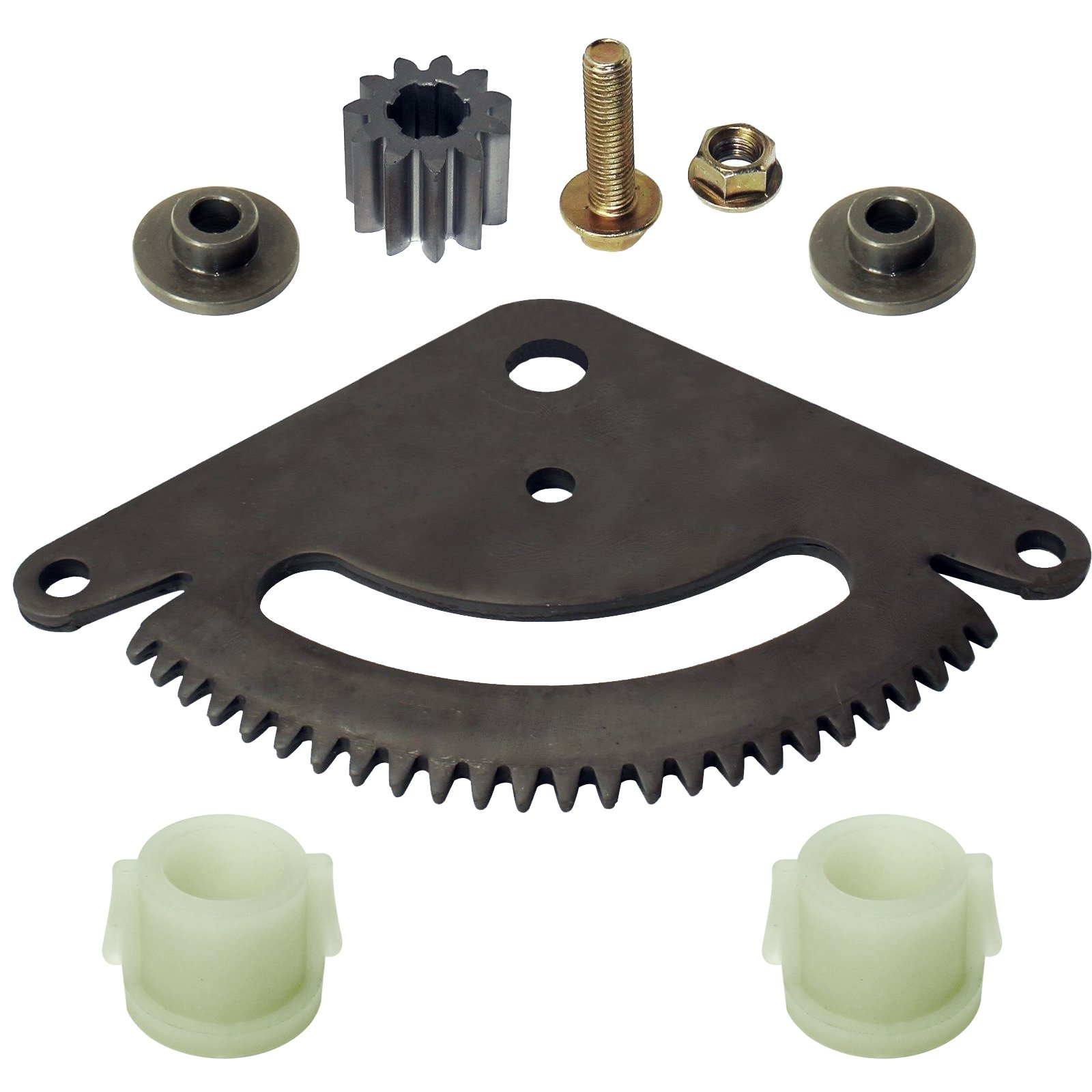 CALTRIC SELECTIVE SECTOR GEAR PINION GEAR w/BUSHING FIT JOHN DEERE SABRE 17.542HS 1742HS by Caltric