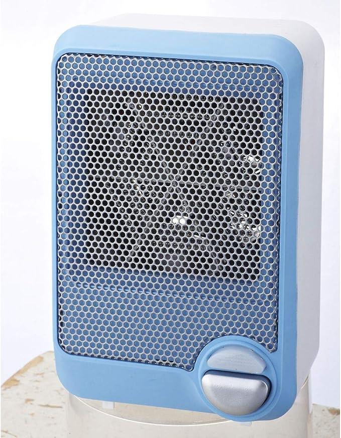 Selecline FH101 Calentador de ventilador Interior Azul, Blanco 600 ...