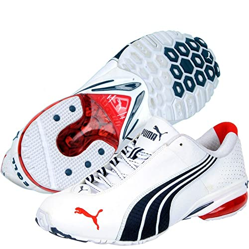 Puma Jago Ripstop White   Navy Blue Lifestyle Shoes - 7uk  Amazon.in  Shoes    Handbags 68c3afb2a
