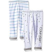 CALVIN KLEIN Baby-Boys 2 Pk Pants Sleepers - Multi