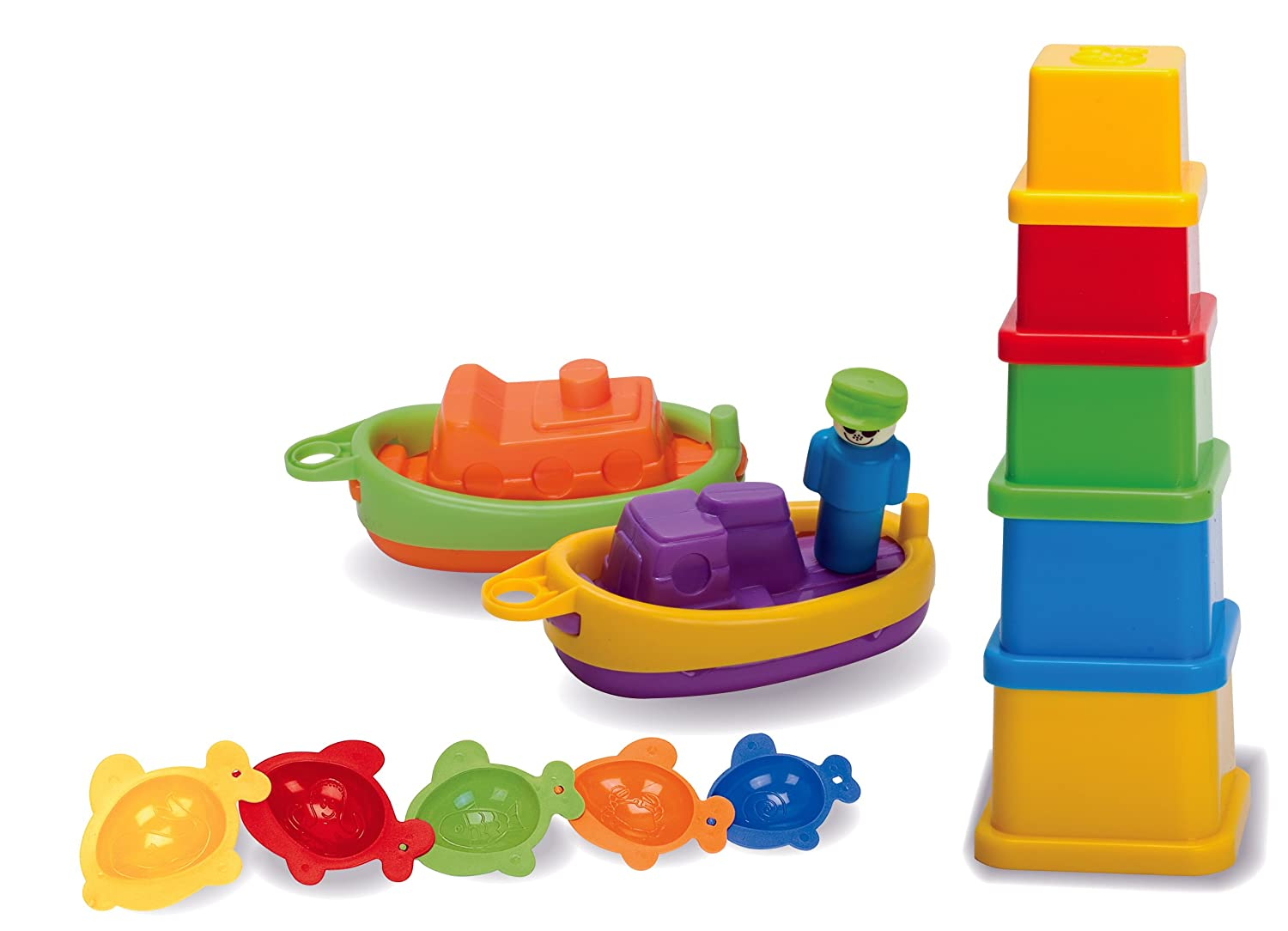 Fun Time Toys : Baby toddler fun bath time toy play set boats months