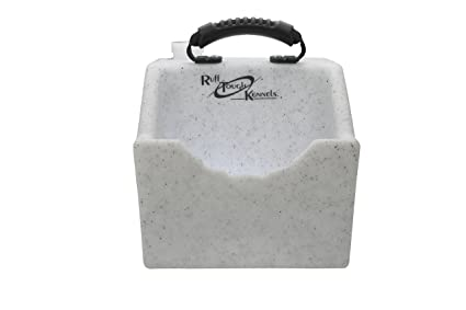 Ruff Tough Kennels >> Ruff Tough Kennels Dog Water Dish Bowl Easy To Use Portable Water Station Whitestone Color Holds 1 Gallon Of Water 10 5 Long 10 Wide 11 5 Tall