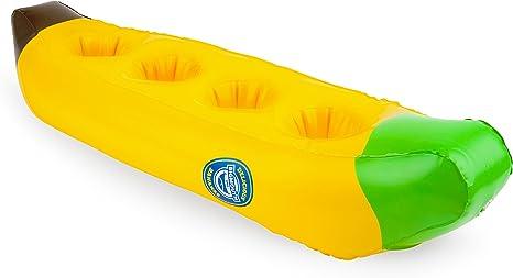 Amazon.com: BigMouth Inc Flotador hinchable para bebidas ...