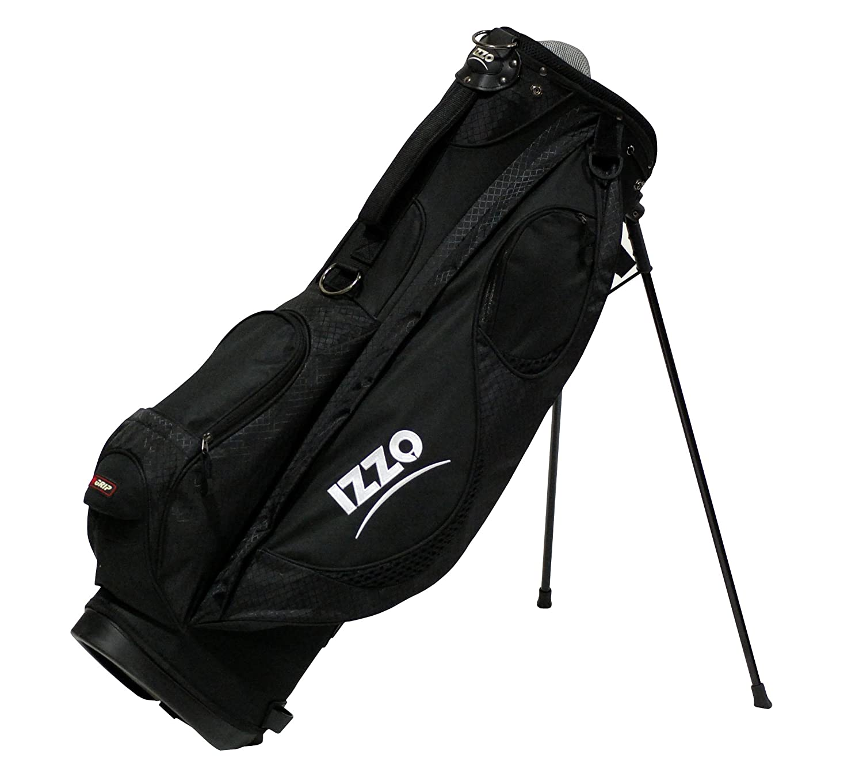 Amazon.com: Izzo Golf Neo Stand Bolsa, Azul, talla única ...