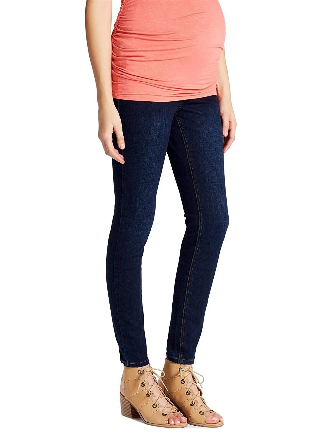 1640ffc41662c Jessica Simpson Secret Fit Belly Skinny Leg Maternity Jeans at Amazon  Women's Clothing store: