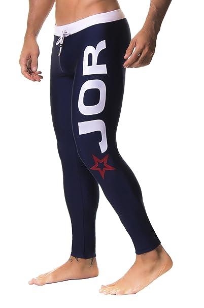 JOR Pantalones Deportivos Olympic Jogging para Hombres, Azul Oscuro Ta. P