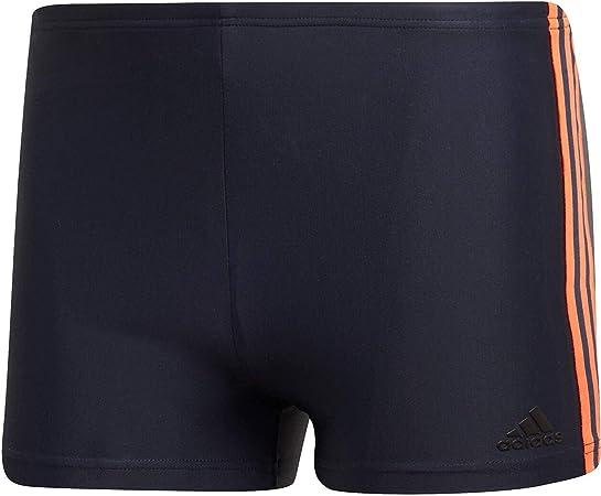 adidas Fitness 3 Stripes Boxer Swimwear pour Homme XS Legend