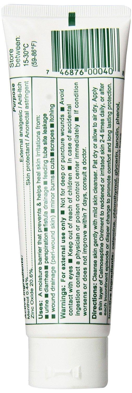 Calmoseptine Ointment Tube 4 Oz (3 Pack)
