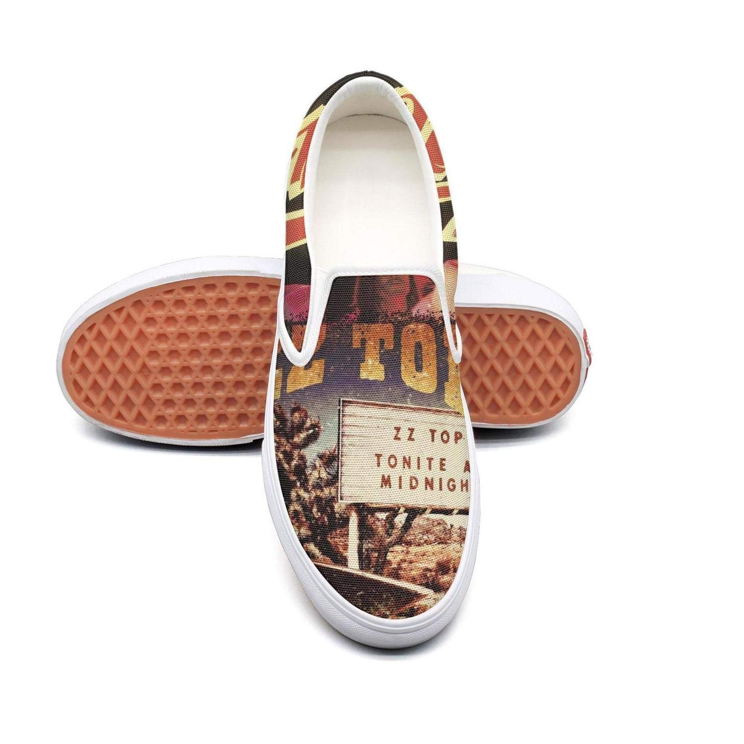 NI kingss Mans ZZ Top El Loco Flat Cool Casual Shoes Spring Casual Sneakers