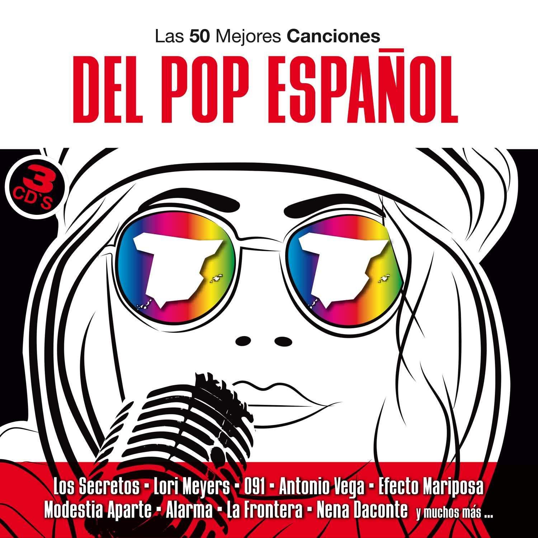 Various Artists - 50 Mejores Canciones Pop Espanol - Amazon ...