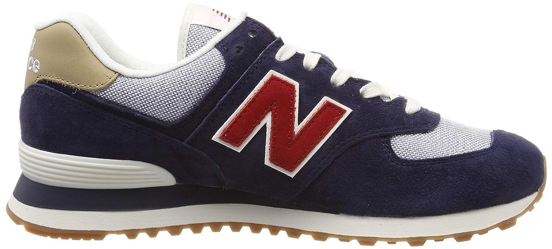 New Balance ML574PTR Mens Navy//Tan Sneakers