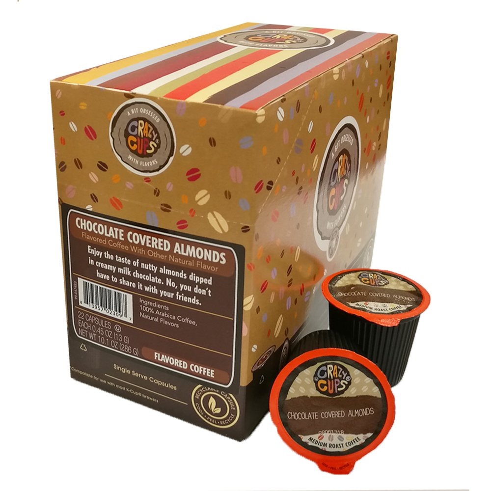 Crazy Cups Flavored Coffee, for the Keurig K Cups Coffee 2.0 ...