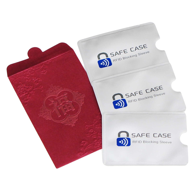 Diawell RFID NFC Schutzhü lle Set (3 Stk) + Geschenkverpackung Kartenschutzhü llen Blocker Datenschutz Abschirmung Hü lle EC Karte Kreditkarte Personalausweis Kreditkarte