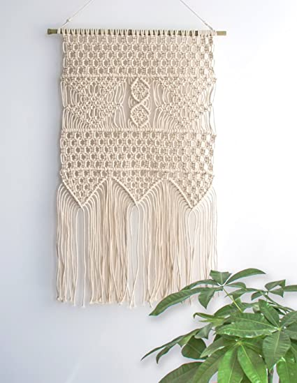 Macrame wall hanging tapestry boho chic home decorative interior wall decor bohemian ethnic apartment