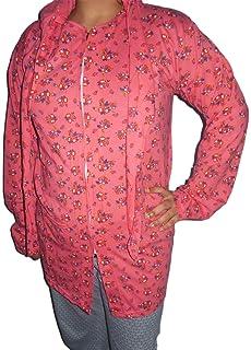 e19205e83164 ... buy popular bfeaa 51a07 Mahi Fashion Womens Cotton Summer Coat  (Summer10 MultiX-Large) ...