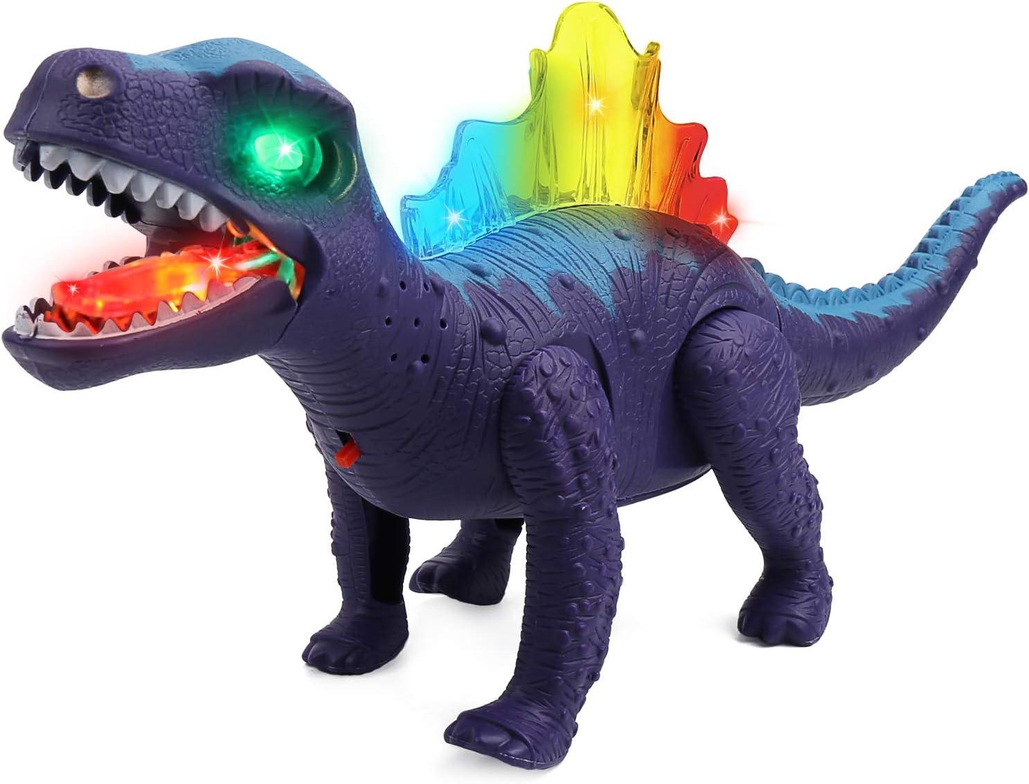 Dinosaurier Light Up Walking Brüllen Ancient Animal Toys Für Jungen Mädchen