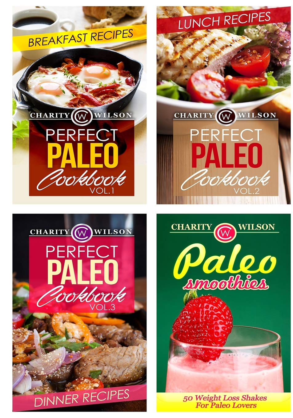Perfect Paleo Diet Cookbook Box Set: Paleo Diet Recipes: Breakfast, Lunch, Dinner And Smoothie Recipes pdf