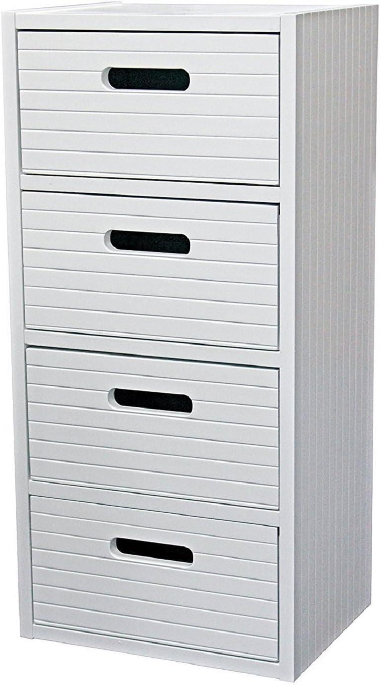 New White Wood Free Standing Bathroom Tidy Wide Vanity Drawer Bedroom  Storage Cabinet Bedside Unit