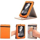 Mulbess® Amazon Kindle 4 Custodia in vera pelle con luce per Kindle 4 Colore Verde