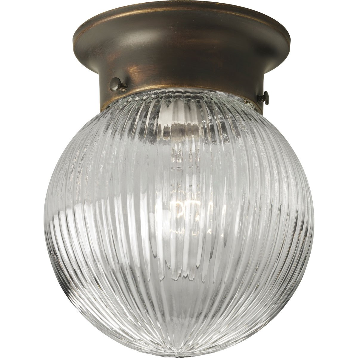 Progress lighting p3599 20 1 light close to ceiling fixture antique progress lighting p3599 20 1 light close to ceiling fixture antique bronze amazon aloadofball Gallery