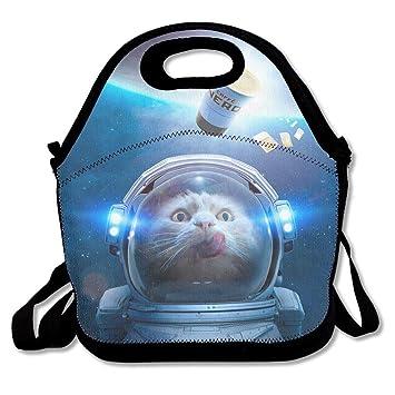 Dozili Space Cat Astronauta grande y gruesa bolsas de ...