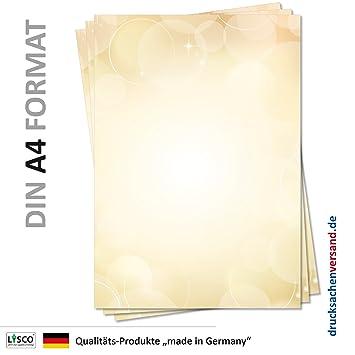 Diseño de papel de carta (MPA de 5134, DIN A4, 100 hojas) Color ...