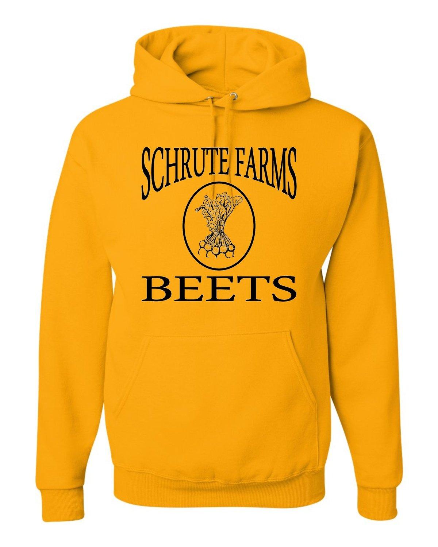 Adult Schrute Farms Beets Sweatshirt Hoodie