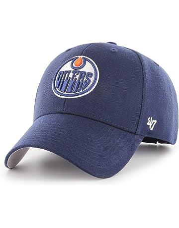 Unbekannt 47brand di Edmonton Oilers della NHL-Strapback cap Navy c03f7abdd643