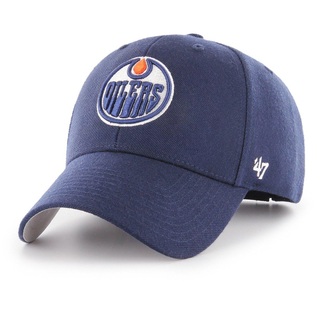 47Brand-Edmonton Oilers-NHL-Cap-Strapback-Navy 47 Brand