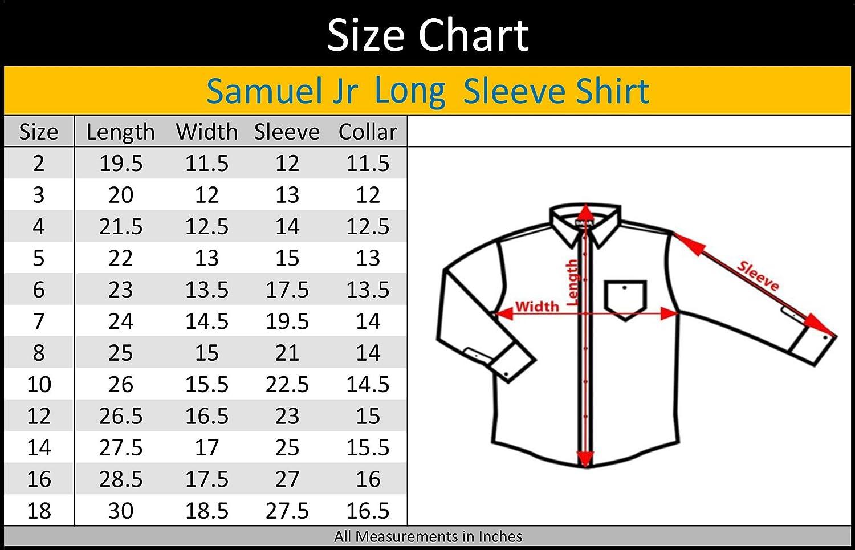 Samuel Jr Boys Long Sleeve Dress Shirt ASHJ32L