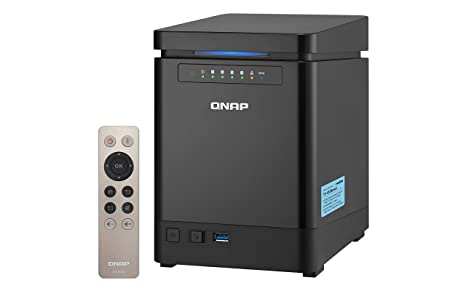 QNAP TS-453Bmini NAS Torre Ethernet Negro - Unidad Raid (Unidad de Disco Duro