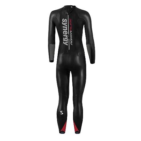 07c06ad0b7 Amazon.com   Synergy Triathlon Wetsuit - Women s Adrenaline Fullsleeve  Smoothskin Neoprene for Open Water Swimming Ironman   USAT Approved   Sports    ...