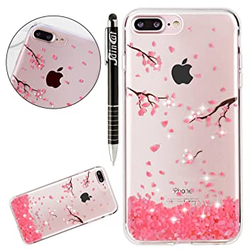 coque iphone 8 plus paillette