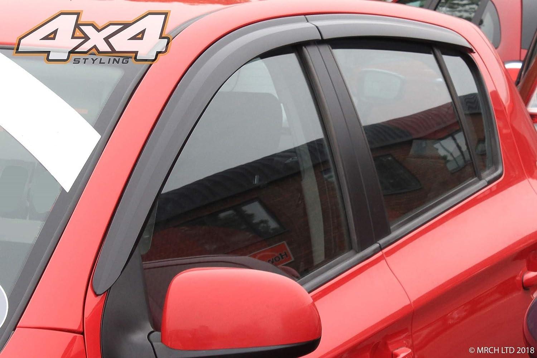 4 pieces Autoclover Wind Deflectors Set for Hyundai i20 2008-2014
