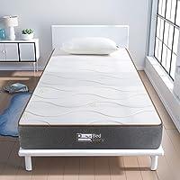 BedStory Colchon Viscoelastico 90x190cm Colchon Aloe Vera Antiácaros e Hipoalergénicos colchón Hotel la Estructura…