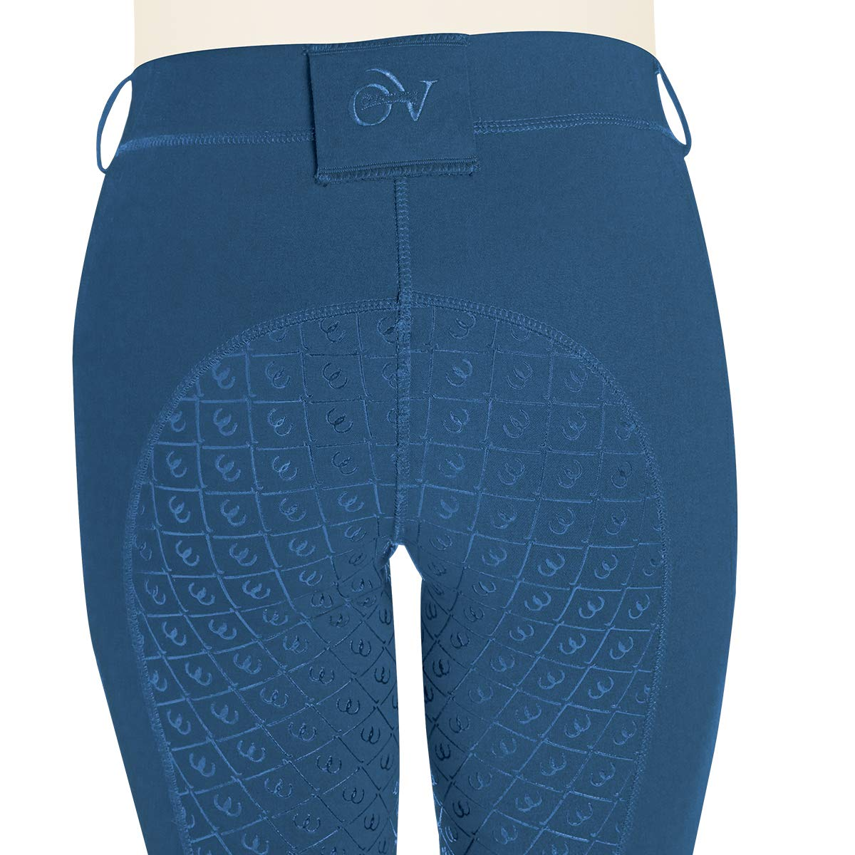 Ovation Ladies aerowickフルシートBreech B07B4Z262M Small|ブルー(Dusk Blue) ブルー(Dusk Blue) Small