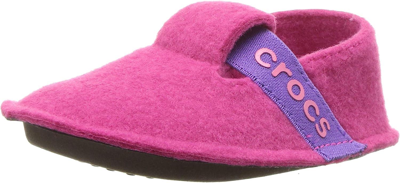 Crocs Unisex-Child Classic Fuzzy Slippers