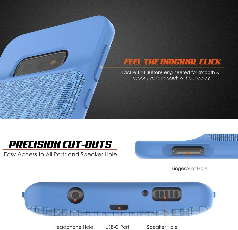 Punkcase PunkJuice Coque batterie pour Galaxy S10e avec chargeur rapide et protecteur d/écran Compatible avec Samsung Galaxy S10e 4700 mAh