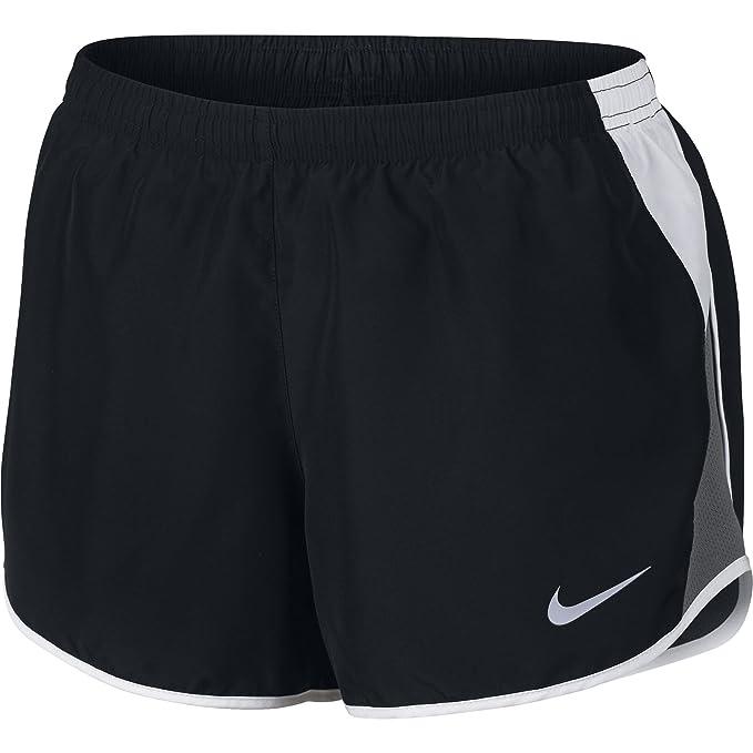 87f2f90279b5 NIKE Women's Dry 10K Running Shorts, Black/White/Dark Grey/Wolf Grey