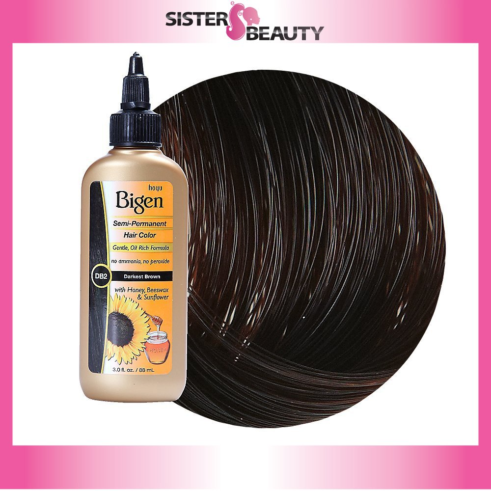 Amazon Bigen Semi Permanent Hair Color Darkest Brown 30