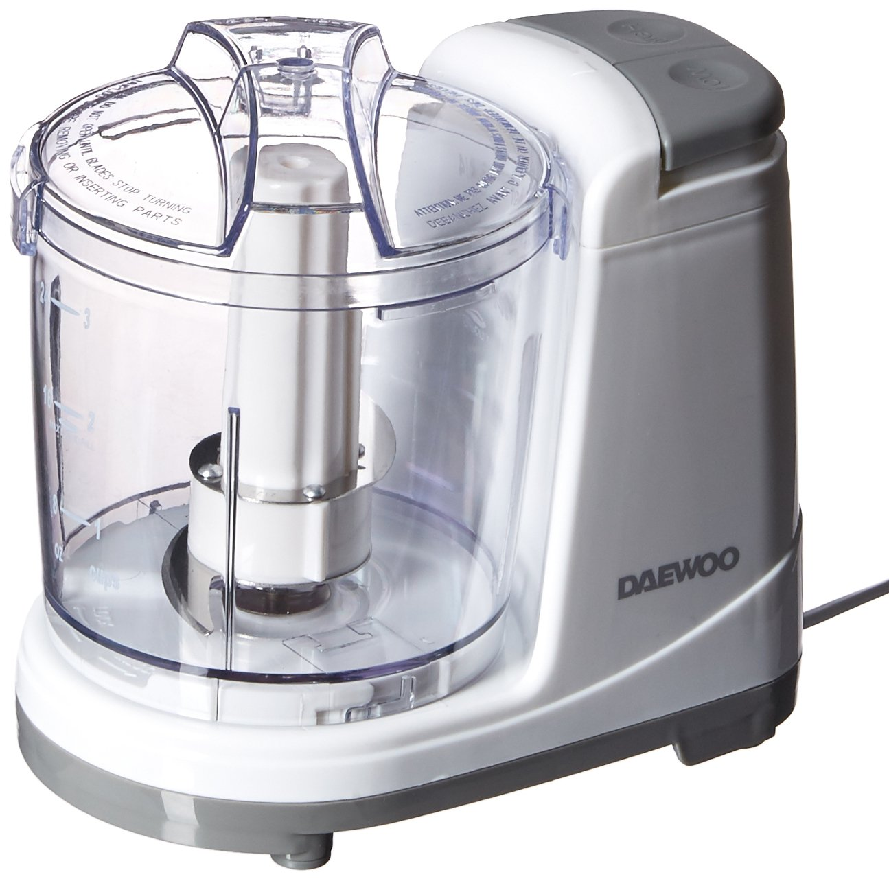 Daewoo DFP-415M 3-Cups 135 Watts Mini Food Chopper, 220 Volts (Not for USA)